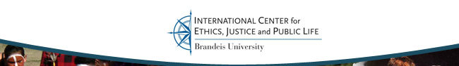 Brandeis University | International Center for Ethics, Justice and Public Life