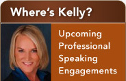 Wheres Kelly | upcoming professional speaking engagements