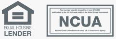 Equal Housing Lender NCUA